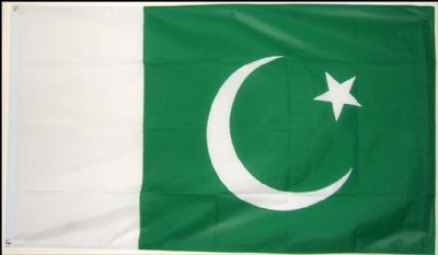 PAKISTAN - 3 X 2 FLAG